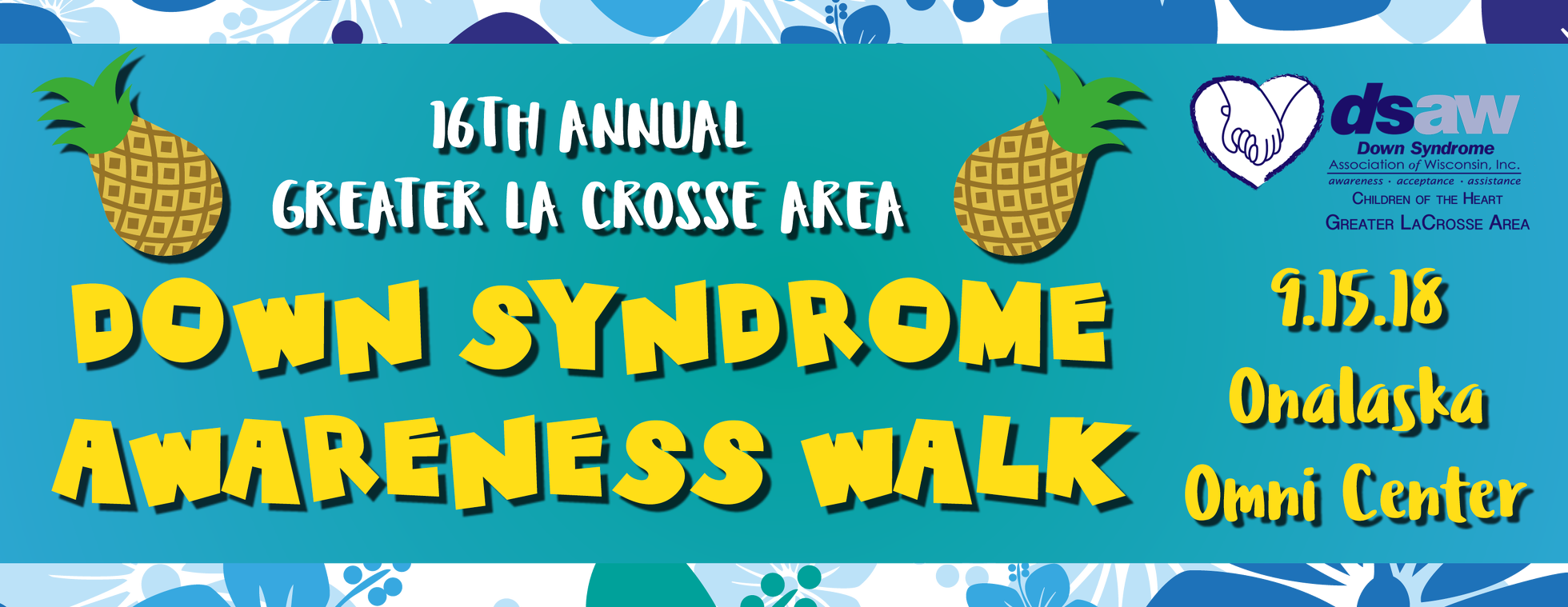 16th Annual La Crosse Down Syndrome Awareness Walk